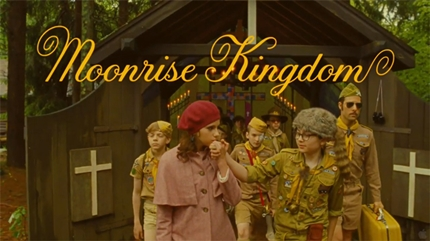 3. Moonrise Kingdom - 7,0