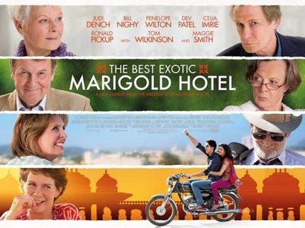 8. O Exótico Hotel Marigold - 6,0